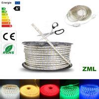 5050 1M-20M LED Strip SMD 60 Guirlande Bande Ruban Silicone Lampe Etanche IP67