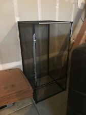 ZooMed reptile screen cage black no screws tape residue local pickup only