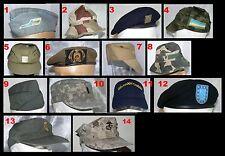 E - 1 (Unos) x sombrero boina tapa ejército