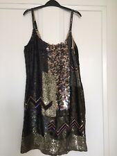 All Saints Bloque Dress Size 10uk RRP £295 great for Christmas or New Year