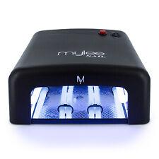 MYLEE 36W UV Lamp Gel Polish Curing Nail Art Dryer Manicure w/ Timer & 4 Bulbs