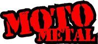 Moto Metal Die Cut Vinyl Decal Sticker  2 Color