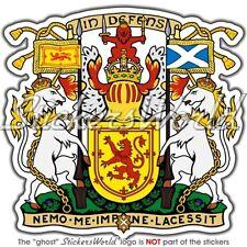 SCHOTTLAND Royal Coat of Arms Schottisch Wappen GB Auto Aufkleber Sticker Decal