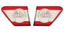 2011 2012 2013 TOYOTA COROLLA BACK UP LAMP LIGHT USA BLT LEFT AND RIGHT PAIR SET