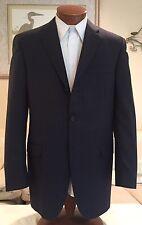 Stunning NEW Burberry London Mens Gray Pinstripe 3 Btn Dual Vent Suit Sz 40 L