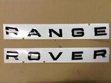 Neuf land rover TDV6 badge discovery 3,4 rrs arrière TDV6 boot badge emblème