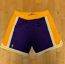 MITCHELL AND NESS AUTHENTIC LOS ANGELES LAKERS GAME SHORTS 1996-97 SZ 2XL