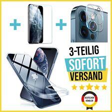 iPhone 12 & 11 | MINI | PRO | MAX Hülle- Panzerfolie- Kamera- Schutzglas-3teilig