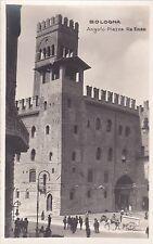 BOLOGNA - Angolo Piazza Re Enzo - Foto Cartolina G.Vettori