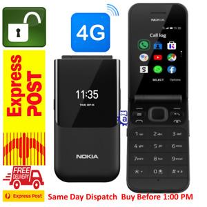 New Nokia 2720 (4G/LTE, Flip Phone,WiFi hotspot,keypad ) Ocean Black AU-STOCK