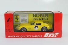 DIE CAST 1/43 BEST MODEL FERRARI 275 GTB/4 LE MANS 1966 9083