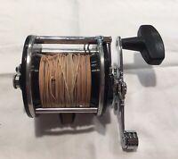 Vintage Penn 209 Level Wind Trolling Reel Fishing Excellent