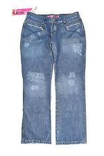 Stonewashed L28 Damen-Jeans im Boyfriend-Stil