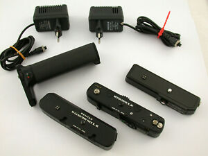 PENTAX Motor Drive LX NC Battery pack M LX charge pack M grip M TOP Lesen READ !