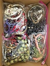 HUGE Vintage Jewelry Lot Some Modern Mostly Wearable Necklaces Bracelets Resell