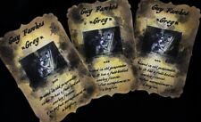 'Guy Fawkes Grog' Bonfire Night Party Bottle Stickers - set of 8