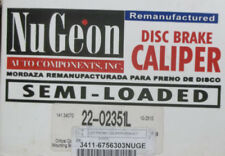 Front Brake Caliper, Left - Nugeon 22-02351L - BMW 535i/550i/745i/760Li, 02-10