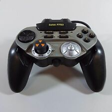 SAITEK P750 DIGITAL GAMEPAD THROTTLE WHEEL MAC PC USB GAMING CONTROLLER (B1900)