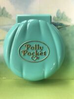 Vintage Polly Pocket 1989 Bluebird Polly's Beach Party Shell Compact Incomplete