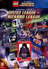 LEGO DC Comics Super Heroes Justice League vs Bizarro League DVD Batman minifig