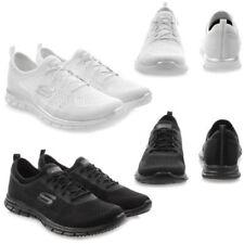 Scarpe da ginnastica tessili marca Skechers per donna memory foam