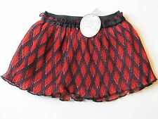 NWT Koala Baby Red & Black Plaid Skirt Baby Infant Girls 12 Months