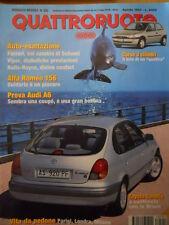 Quattroruote 502 1997 - Alfa Romeo 156 guidarla è un piacere   [Q41]