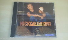 CD--NICK CARTER --NOW OR NEVER--- -ALBUM
