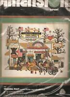 Dimensions TRADING POST CREWEL EMBROIDERY Kit, Charles Wysocki,MPN 1167,SEALED
