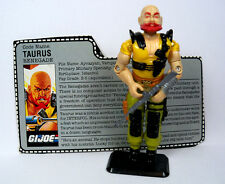 "GI Joe 3.75"" Action Figure - (622) 1987 TAURUS Renegade  w/ Filecard"