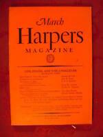 HARPER's March 1932 STEPHEN VINCENT BENET J B S HALDANE JOHN H. TUNIS