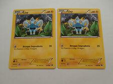 Carte Pokemon Lixy 60 pv Noir et Blanc Destinées Futures x 2 !!!