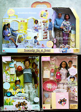 Grandma's Kitchen Happy Family Barbie Doll Grandpa African Midge Nikki Alan AA D