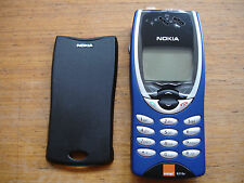 Nokia 8210 MOBILE UNLOCKED, NEW GENUINE FASCIA, BLUE , LATEST RELEASE VERSION