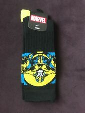 Avengers Infinity  War Thanos Crew  Adult  Men Socks Size 10-13