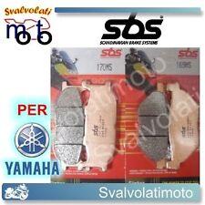 KIT PASTICCHE SBS ANTERIORI-POSTERIORI YAMAHA T-MAX TMAX 500 2002 170MS-169MS