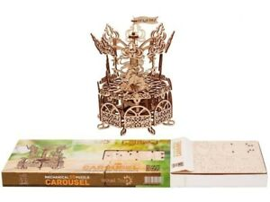 Wood Trick Mechanical 3D Puzzle. The Carousel