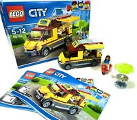Lego 60150 City Pizza Van | Retired | With Box & Manuals | Free Postage