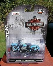 Harley Davidson 1948 Panhead 1/24 Scale Model - New in Package