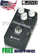 New Joyo JF-35 Pocket Metal Distortion Guitar Effects Pedal FX Stompbox Bypass