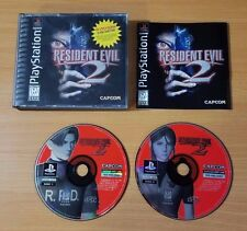 Resident Evil 2 (Sony PlayStation 1, 1998) ~ 100% Complete!