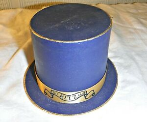 VINTAGE THE RITZ CLUB HAT BOX WOULD HAVE CONTAINED CHOCOLATES NOVELTY MINATURE