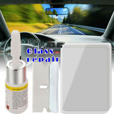 Car Window Cracked Glass Repair Recover Kit Windshield DIY Tools Glass Scratch