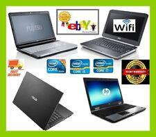 CHEAP FAST DUAL CORE, I3 I5 I7 LAPTOP WINDOWS 10 4GB 8GB 16GB RAM SSD & HDD