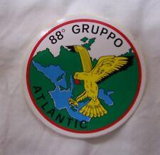 4 TOPPE ADESIVE 88 GRUPPO 88° ATLANTIC AERONAUTICA AVIAZIONE ADESIVO STOCK LOTTO
