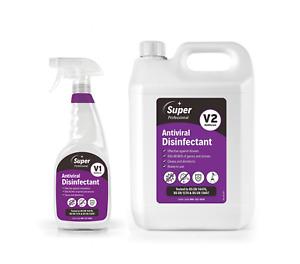 Anviral Disinfectant Surface Cleaner Kills 99.99% viruses 750ml + 5L Refill
