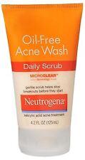 Neutrogena Oil-Free Acne Wash Daily Scrub 4.20 oz
