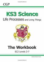 KS3 Biology Workbook - Higher: Life Processes and Living Things Workbook (Leve,