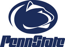 "Penn State Lions Logo Corn Hole (Bag Toss) 18""w X 13""t  Vinyl Decals set of 2"