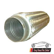 55mm x 200mm Exhaust Flex Tube Joint Flexi Pipe Repair Flexipipe